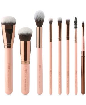 8-Pc. Rose Gold Complete Face Brush Set