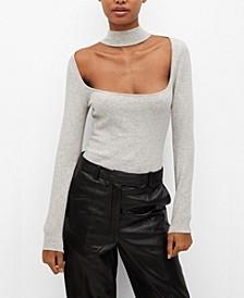 Women's Squared Neckline Bodysuit