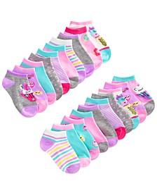 Big Girls 20-Pk. Low Cut Socks