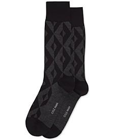 Men's Geo Patterned Dress Socks