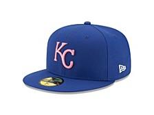 Kansas City Royals 2021 Mother's Day 59FIFTY Cap