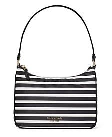 Nylon Watch Hill Stripe Small Shoulder Bag