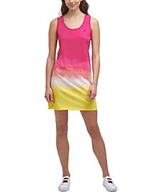 Cutout OmbréTank Dress
