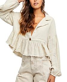 Lyra Cotton Tiered Jacket