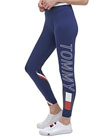 Tommy Hilfiger Women's Sport High Rise Logo Leggings