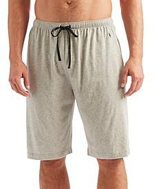 Men's Lightweight Knit Pajama Shorts