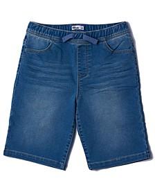 Big Boys Stretch Denim Shorts
