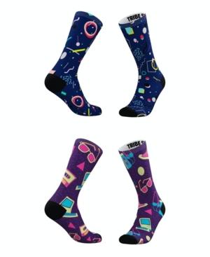 Tribe Socks Socks MEN'S AND WOMEN'S TOTALLY 80S SOCKS, SET OF 2