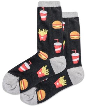 Women's Burger & Fries Crew Socks