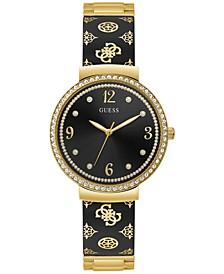 Women's Gold-Tone Embellished Bracelet Watch 36mm