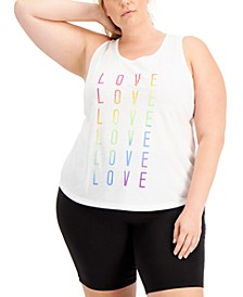 Women's Plus Size Pride 2021 Tank Top, Created for Macy's