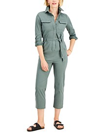 Tie-Waist Jumpsuit, Created for Macy's