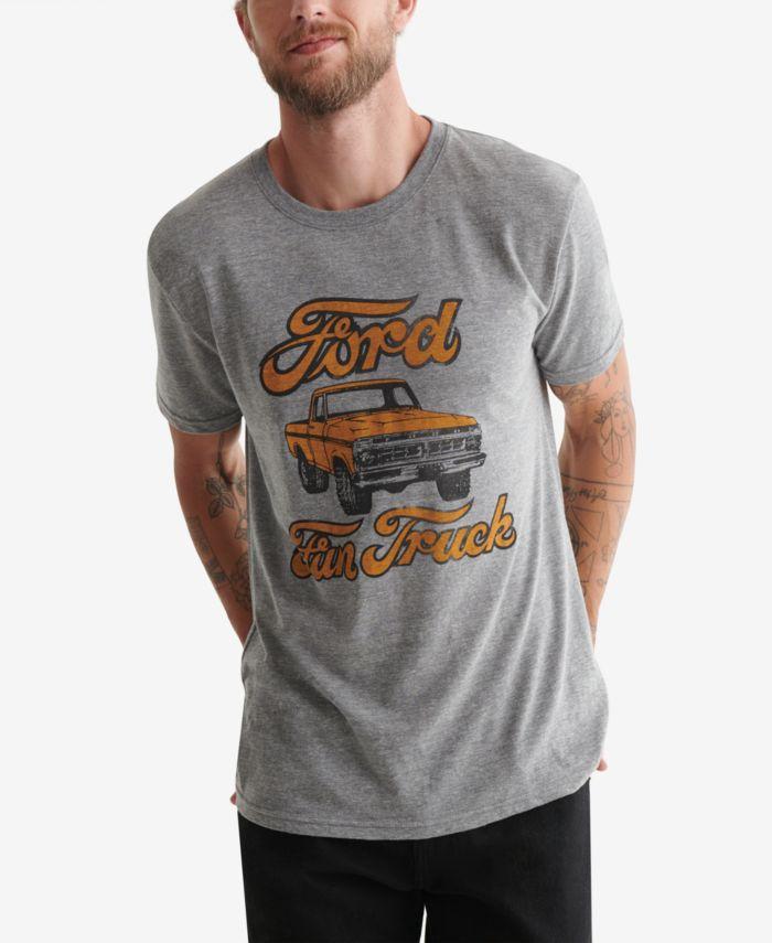 Lucky Brand Men's Ford Fun Truck T-Shirt & Reviews - T-Shirts - Men - Macy's