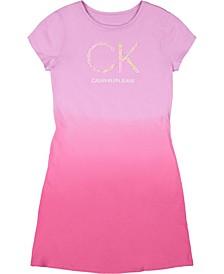 Big Girls Dip Dye Dress