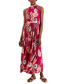 INC Petite Floral-Print Maxi Dress, Created for Macy's