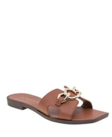Women's Lacinda Flat Slide Sandals