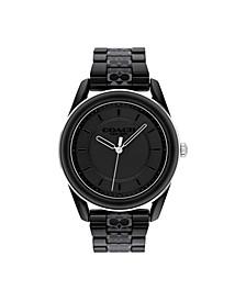 Women's Preston Black Ceramic Bracelet Watch 38mm