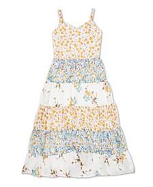 Little Girls Floral Print Dress