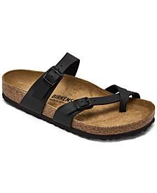 Women's Mayari Birko-Flor Casual Sandals from Finish Line