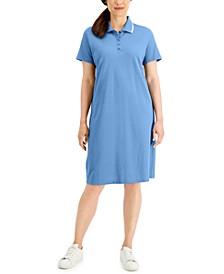 Petite Polo Shirt Dress, Created for Macy's