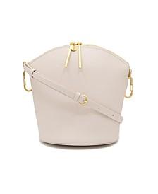 Belay Zip Top Leather Shoulder Bag