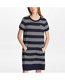 Stripe Sweater Dress