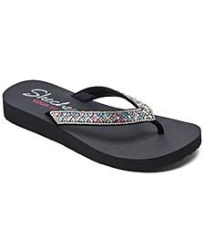 Women's Cali Meditation - Lotus Bay Flip-Flop Thong Sandals from Finish Line