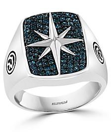 EFFY® London Blue Topaz Star Ring (3/4 ct. t.w.) in Sterling Silver
