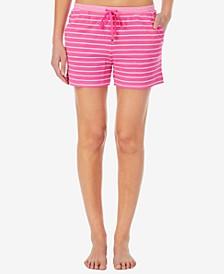 Striped Loungewear Shorts