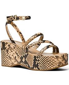 Women's Hazel Ankle-Strap Wedge Sandals