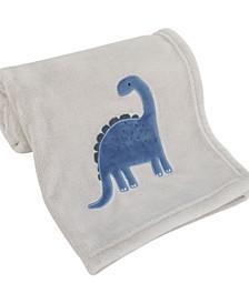 Dino Adventure Super Soft Coral Fleece Baby Blanket