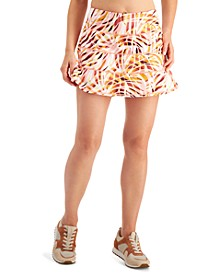 Performance Printed Tiered Skort, Created for Macy's
