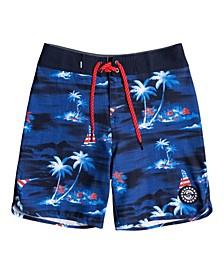 Big Boys Surf Silk Mystic Sessions Board Shorts