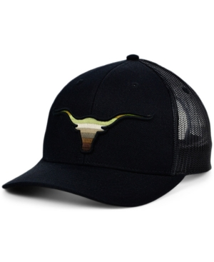 Local Crowns Longhorn Animal Collection Curved Trucker Cap