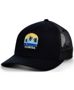 Local Crowns Florida Views Patch Curved Trucker Cap