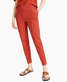 Petite Seamed Slim Pants, Created for Macy's