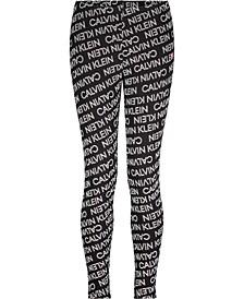 Big Girls Performance Exploded Logo Legging
