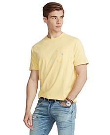 Men's Classic Fit Crew Neck Pocket T-Shirt