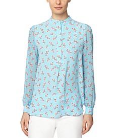 Albertine Printed Tunic Top