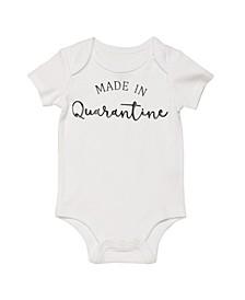 Baby Boys and Girls Quarantine Graphic-Print Bodysuit