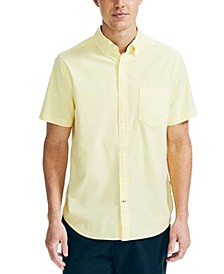 Men's Classic-Fit Stretch Solid Oxford Shirt