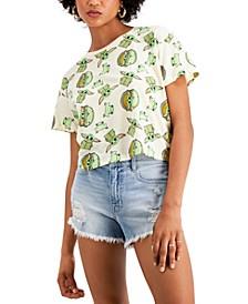 Juniors' Baby Yoda T-Shirt