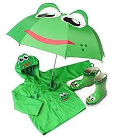 Kids' Frog Rain Gear