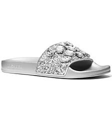 Women's Gilmore Embellished Slide Sandals