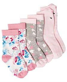 Baby Girls 3-Pk. Mix & Match Socks, Created for Macy's