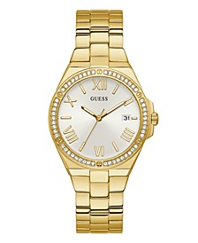 Women's Gold-Tone Stainless Steel Watch 38mm
