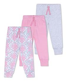 Baby Girls Pant, 3 Piece Set