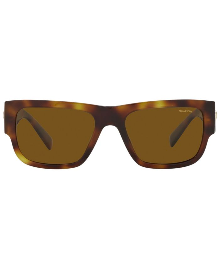 Versace Men's Polarized Sunglasses, VE4406 56 & Reviews - Sunglasses by Sunglass Hut - Men - Macy's