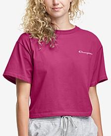 Women's Cotton Cropped T-Shirt