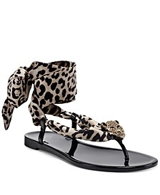 Women's Malana Scarf Flat Sandals, Created For Macy's